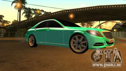 Mersedes-Benz s63 w222 Bulkin Amoral v 1.2 für GTA San Andreas