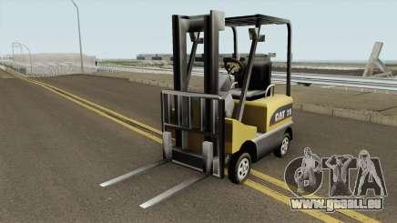 Forklift Empilhadeira TCGTABR pour GTA San Andreas