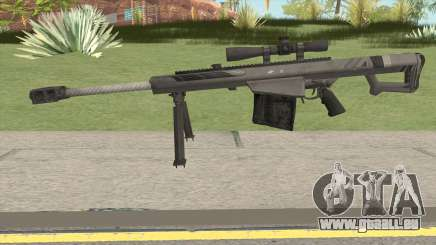 BARRETT XM109 Carbon Fiber (.25mm) pour GTA San Andreas