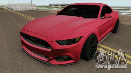 Ford Mustang GT 2015 HQ pour GTA San Andreas
