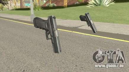 CSO2 Glock 17 pour GTA San Andreas