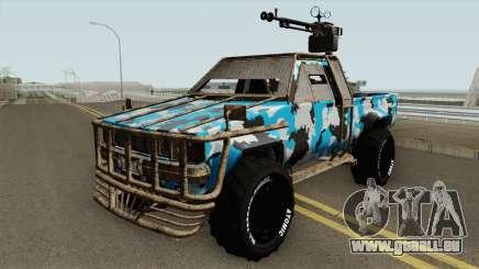 Technical Gunrunning GTA V für GTA San Andreas