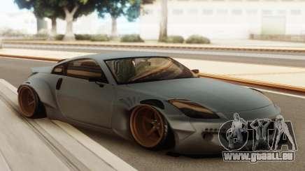Nissan 350z Rocket Bunny Grey für GTA San Andreas