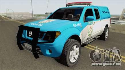 Nissan Frontier PMERJ 2013 für GTA San Andreas
