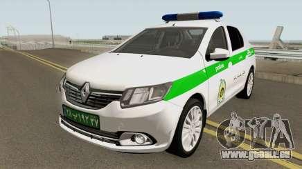 Renault Logan 2016 Policia Iranian pour GTA San Andreas