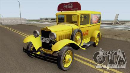 Ford Model A Delivery Van Coca Cola für GTA San Andreas