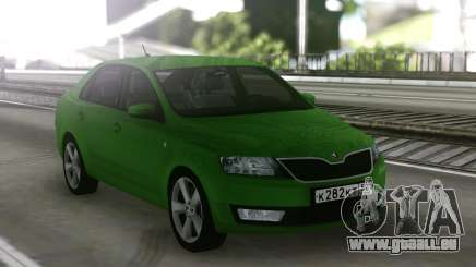 Skoda Rapid Green pour GTA San Andreas