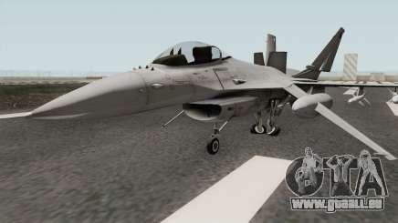 Lockheed Martin F-16L Overwatch Falcon pour GTA San Andreas