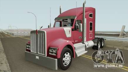 Kenworth W990 Studio Sleeper pour GTA San Andreas
