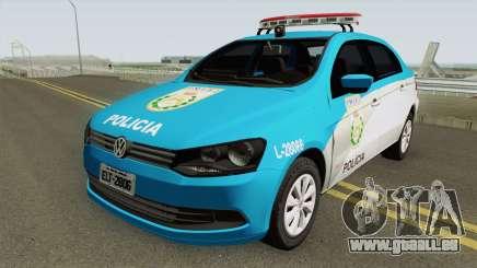 Volkswagen Voyage G6 PMERJ pour GTA San Andreas