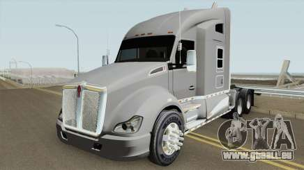 Kenworth T680 Studio Sleeper 2018 Full Chrome pour GTA San Andreas
