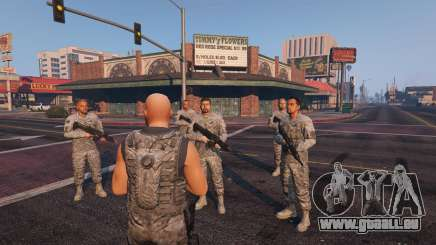 Warfare MOD 1.0 für GTA 5