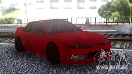 Nissan 200SX S14 Rocket Bunny Custom pour GTA San Andreas