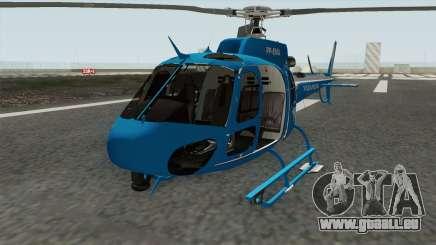 Helicoptero Fenix 02 do GAM PMERJ pour GTA San Andreas