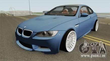 BMW M3 E92 HQ pour GTA San Andreas