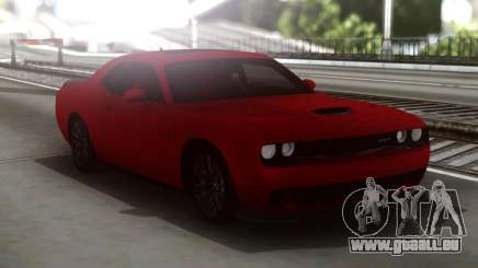 Dodge Challenger SRT Red pour GTA San Andreas
