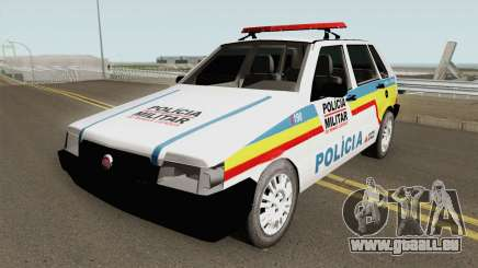 Fiat Uno Mille Multifuncional PMMG pour GTA San Andreas