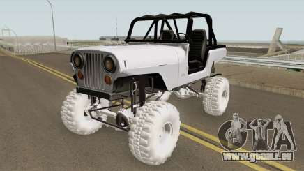 Jeep Renegade CJ7 pour GTA San Andreas
