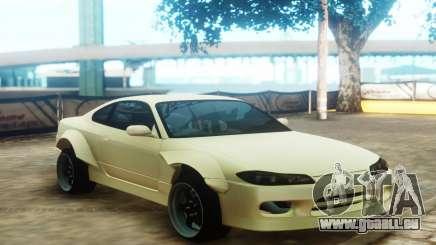Nissan Silvia S15 Custom Fenders pour GTA San Andreas