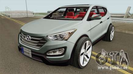 Hyundai Santa Fe 2015 HQ pour GTA San Andreas