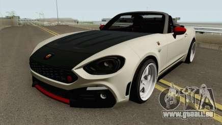 Fiat 124 Spider Abarth V2 pour GTA San Andreas