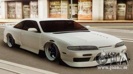 Nissan Silvia S14 Zenki White für GTA San Andreas