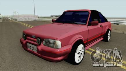 Ford Escort XR3 1992 Cabriolet HQ pour GTA San Andreas