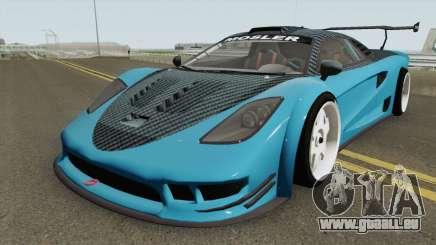 Airborne Mosler Super GT (Tyrus Style) Asphalt 8 pour GTA San Andreas