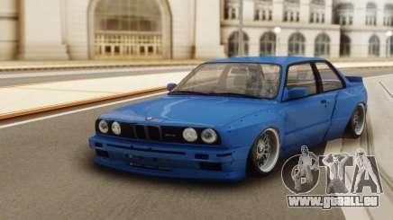 BMW M3 E30 Pandem pour GTA San Andreas