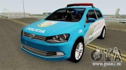 Volkswagen Gol G6 PMERJ pour GTA San Andreas