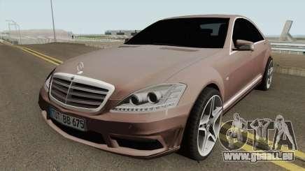 Mercedes-Benz W221 HQ pour GTA San Andreas