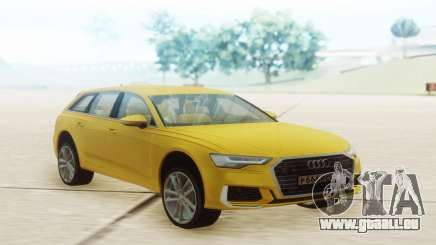 Audi A6 2019 Yellow pour GTA San Andreas