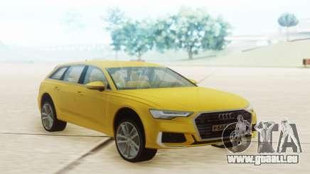 Audi A6 2019 Yellow für GTA San Andreas
