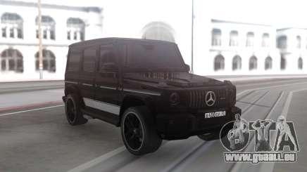 Mercedes-Benz G63 Black Offroad pour GTA San Andreas