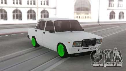 2107 Vert roues pour GTA San Andreas