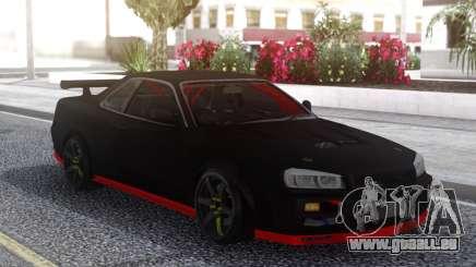 Nissan Skyline R34 Drift Sport pour GTA San Andreas