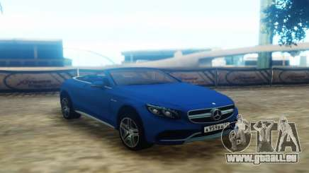 Mercedes-Benz S63 Cabrio pour GTA San Andreas
