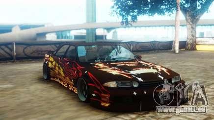 Nissan Skyline ER32 BN Sports für GTA San Andreas