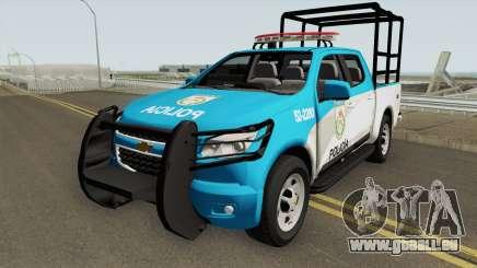 Chevrolet S10 PMERJ Com GAIOLA pour GTA San Andreas