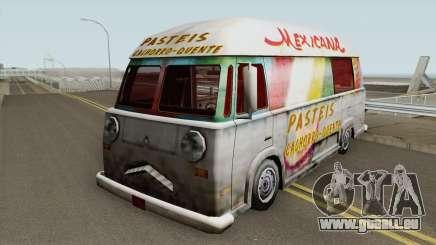 Hotdog Van Lanche Mexicana pour GTA San Andreas