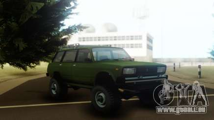 VAZ 2104 sur le châssis et le moteur de l'Oise pour GTA San Andreas