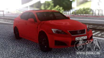 Lexus IS-F 2007 Red pour GTA San Andreas