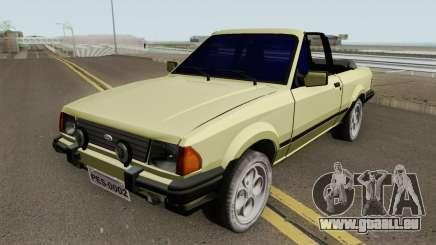 Ford Escort XR3 1986 Cabriolet für GTA San Andreas