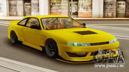 Nissan Silvia S14 Kouki Yellow für GTA San Andreas