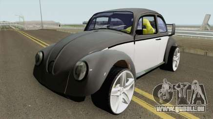 Volkswagen Beetle Engine V10 Viper pour GTA San Andreas