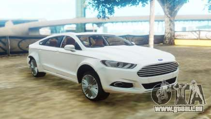 Ford Fusion White pour GTA San Andreas