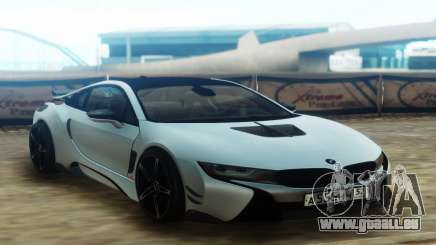 BMW i8 AC Schnitzer ACS8 White für GTA San Andreas