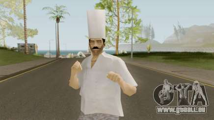 Chef From VC pour GTA San Andreas