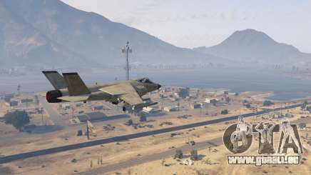 Super Sonic (Higher Aircraft Speed Altitude) pour GTA 5