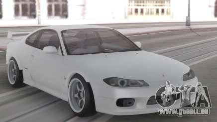 Nissan Silvia S15 White Stock pour GTA San Andreas